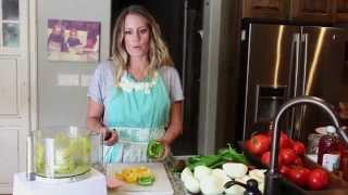 How to:  Canning Grandma Walker's Salsa