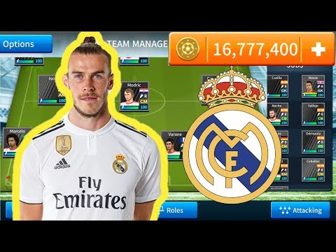 How To Create Latest Real Madrid Team In Dream League Soccer 2019.