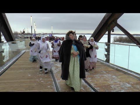 Екатерина II всё таки прошлась по обновлённому мосту Мензелинска
