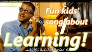 Learning the Bible with kids songs. Christian kids song to help learn the Bible.