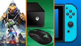 Anthem Hits Alpha + Xbox Announces Keyboard Support + How Long Nintendo Keeps Your Save Data