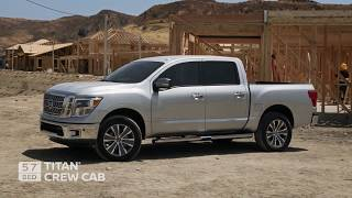 Nissan TITAN and TITAN XD Trucks - Overview 2019 - Crew King Single Cabs - ROGEE