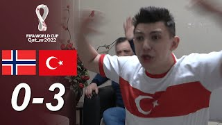 TURKISH FANS REACTION| Norway 0-3 Turkey | FIFA 2022 WORLD CUP QUALIFERS
