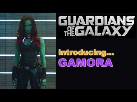 Guardians of the Galaxy 2 trailer: Baby Groot steals the ... |Gamora Guardians Of The Galaxy Trailer