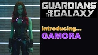 guardians of the galaxy 2014 zoe saldana is gamora beyond the trailer