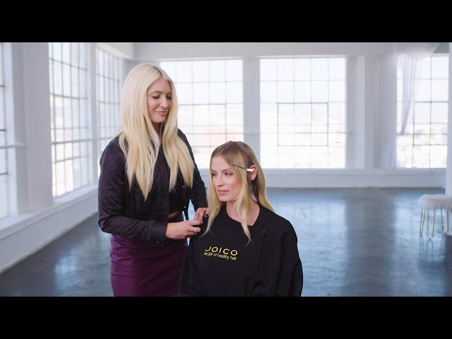 Caramel Contour Haircolor Technique with LumiShine DD Creme