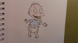 402 - How to Draw Tommy Pickles from the Rugrats