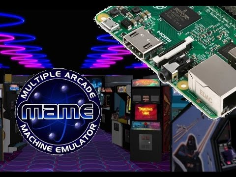 Raspberry Pi Attract Mode And Advance Mame Change