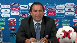 POR v. CHI - Juan Antonio PIZZI - Chile Post-Match Press Conference