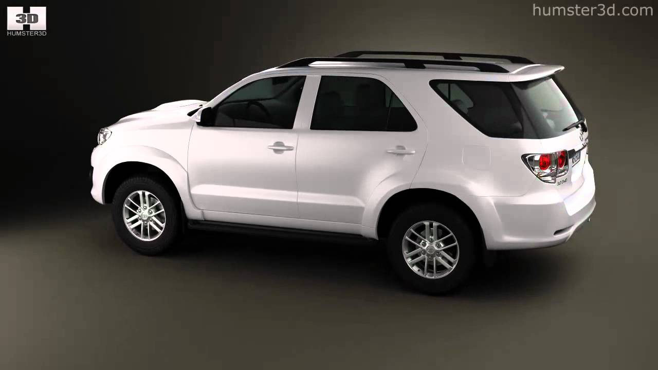 Toyota Fortuner 2012 By 3d Model Store Humster3d Com Youtube