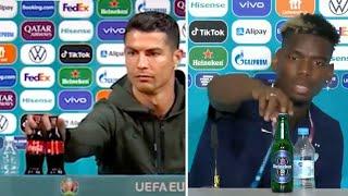 Bu akımı Ronaldo başlattı! Paul Pogba EURO 2020'nin resmi bira sponsoru Heineken'i kenara attı