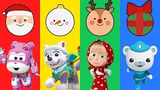 Surprise Eggs With Paw Patrol, Octonauts, Super Wings, Masha & The Bear For Babies Kids - LuLuPop TV