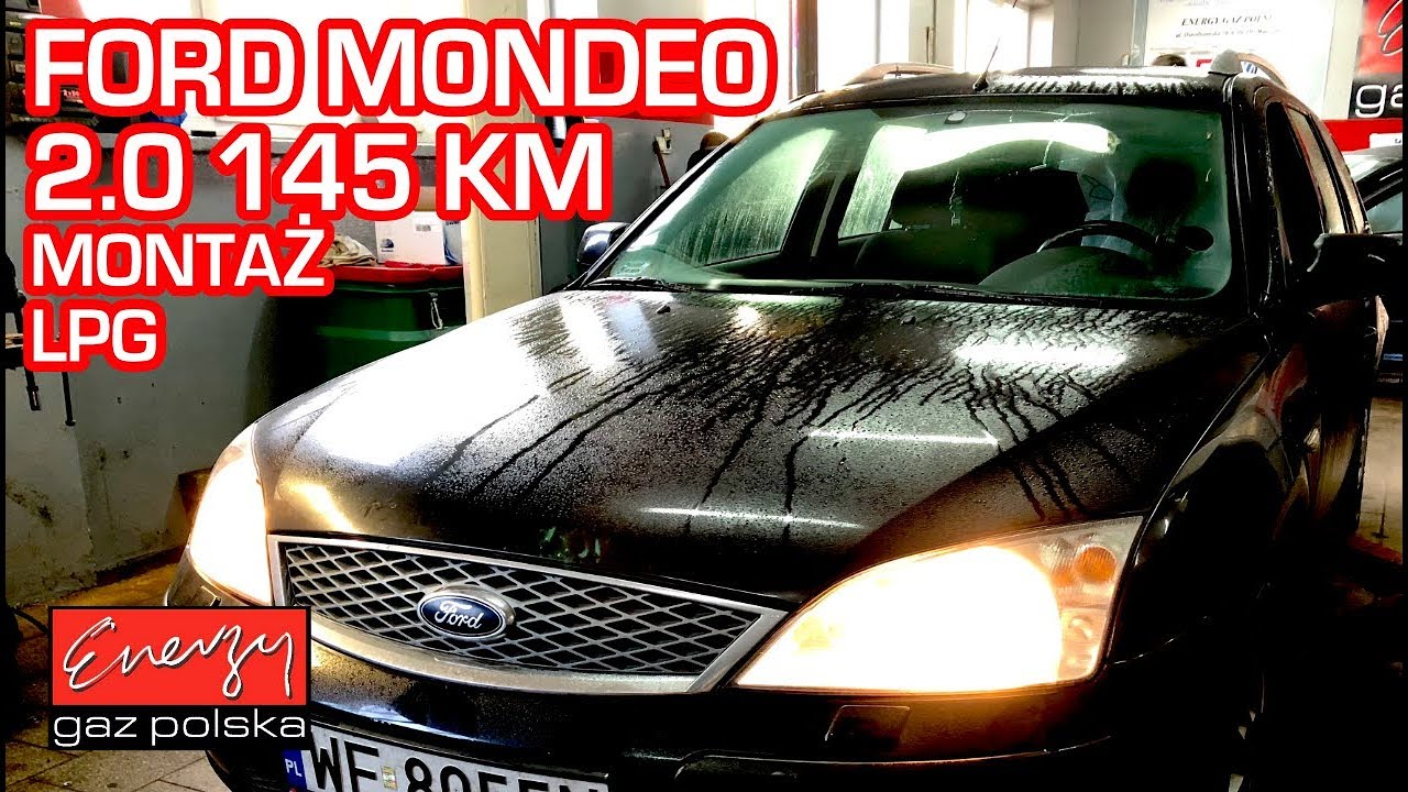 Montaż LPG Ford Mondeo MK3 2.0 145KM w Energy Gaz Polska na gaz Lovato Smart