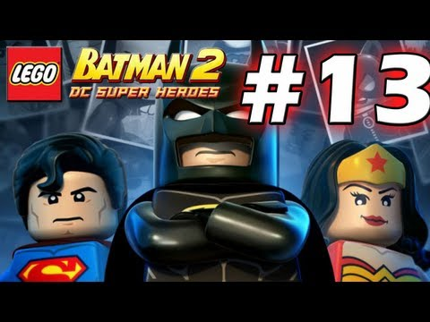 LEGO Batman 2 : DC Super Heroes Episode 13 - Research and Development  (HD) (Gameplay)