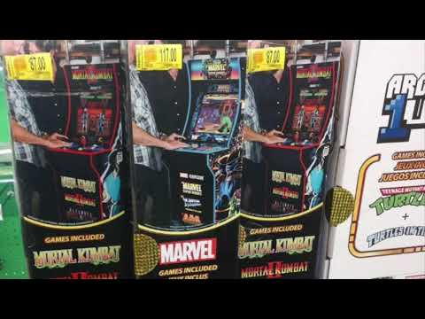 Arcade1UP Cheap Marvel Mortal Kombat Walmart Prices Arcade 1Up Sale from rarecoolitems