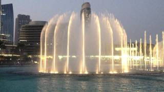 Dubai Fountain 2013 - Baba Yetu