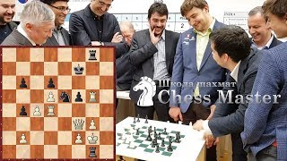 Three World Champions against Karjakin, Nepo and Dubov. Chess