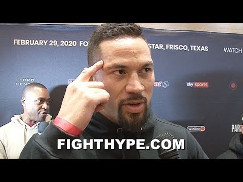 JOSEPH PARKER AS REAL AS IT GETS ON FURY STOPPING WILDER, STILL DANGEROUS RUIZ & WILDER, & RETURN