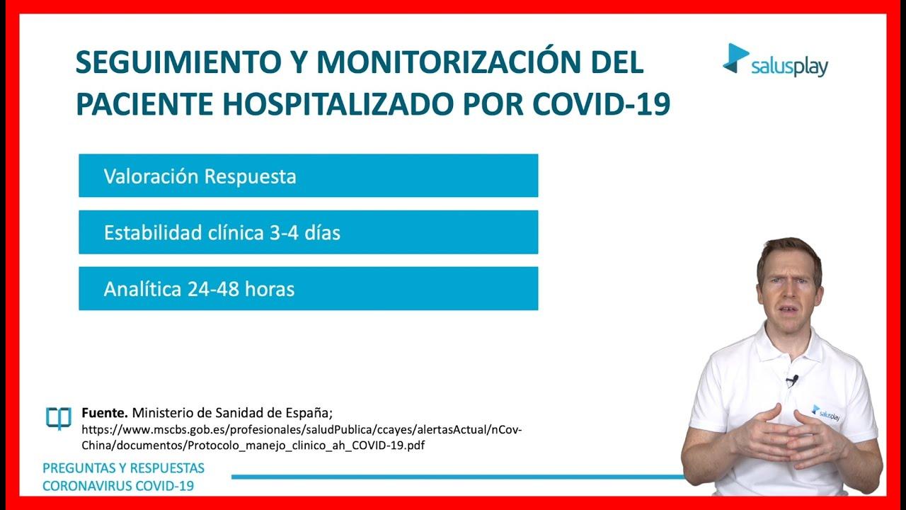 Download #MONITORIZACIÓN CLÍNICA del paciente hospitalizado por #COVID-19