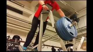 chest supported row   drop set starting from 100 kg or 225 lbs