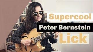 Jazz Guitar Lessons Berlin: 73 supercool Peter Bernstein Lick