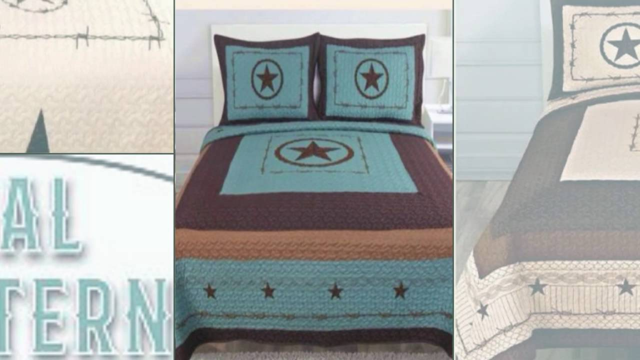 Western Bedding Sets - YouTube