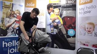 Joie Litetrax 3 using as a travel system