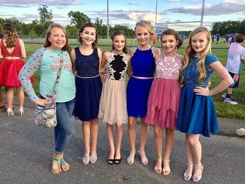 6th Grade Homecoming 2017 with Princess Ella and friends