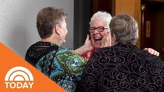 Three Sisters Meet For The First Time After Seven Decades Apart TODAY