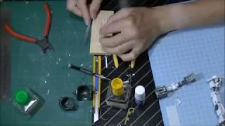 【ガンプラ】1/100 リアルタイプ MS-06 ザクを作る その54 thumbnail
