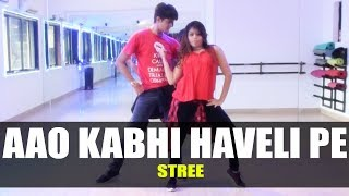 Aao Kabhi Haveli Pe - Stree | Dance Choreography | GunRush