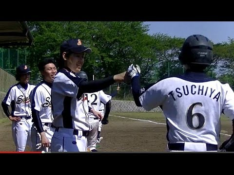 2014年草野球大会Victoriaリカーズベースボールクラブ × 世田谷SAVEON