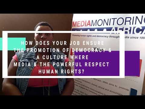 Media Monitoring Africa Web Ranger SA Programme Coordinator Phakamile Khumalo