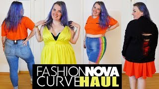 $350 Fashion Nova Curve Haul | #NovaBabe