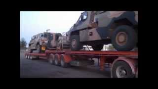 Road Trains and Drivers - Bourke North, NSW