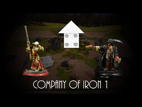 Company of Iron Battle Report 1:  Menoth Vs Mercenaries