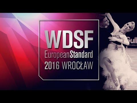 ITV Sodeika - Zukauskaite, LTU   2016 European Standard   DanceSport Total