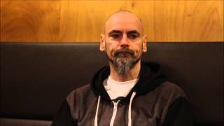 LiveReviewer Presents: Interview with Aaron - My Dying Bride - Tivoli Utrecht Netherlands 2016