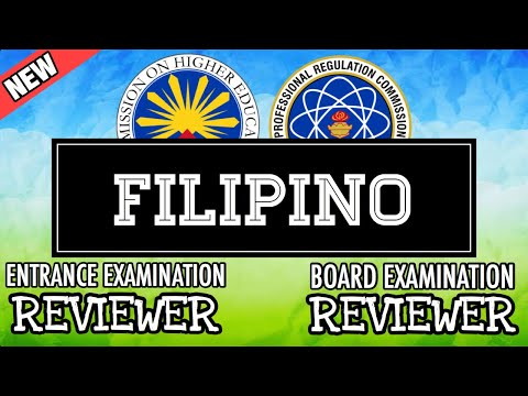 Entrance Exam Reviewer | Common Questions With Answer In Filipino
