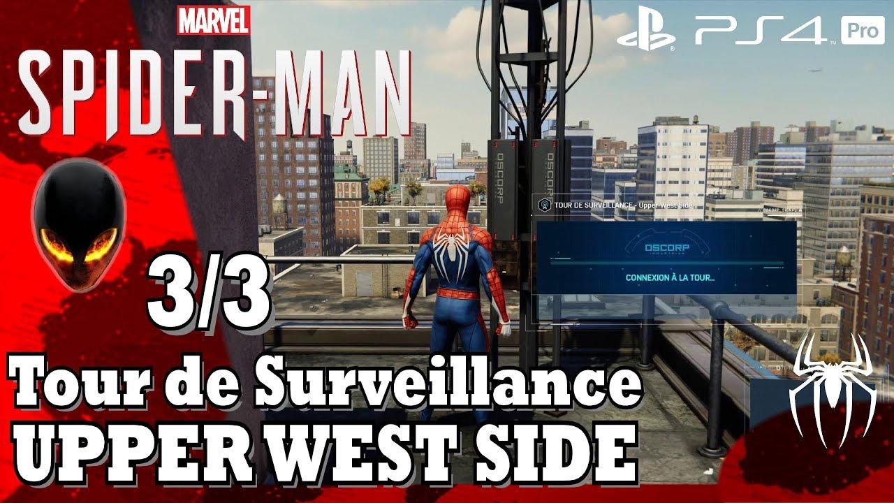Spider Man Tour De Surveillance 33 Upper West Side Youtube