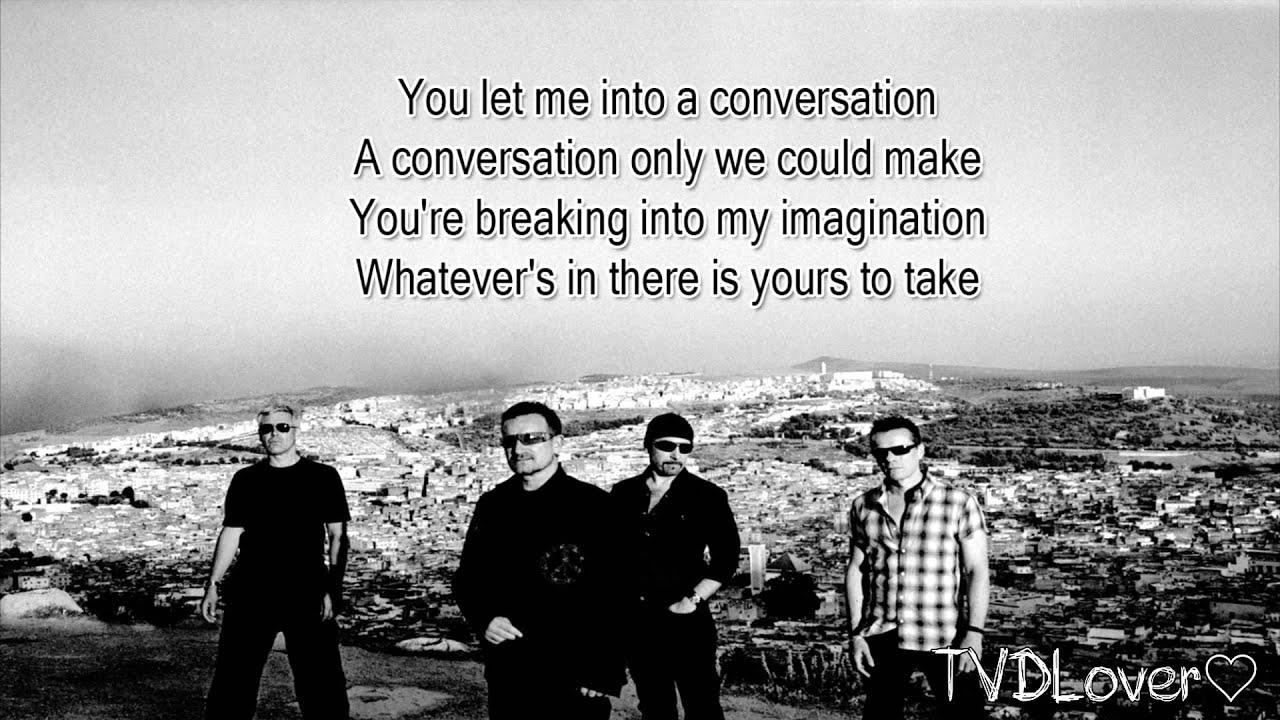 U2 Song For Someone Lyrics Youtube