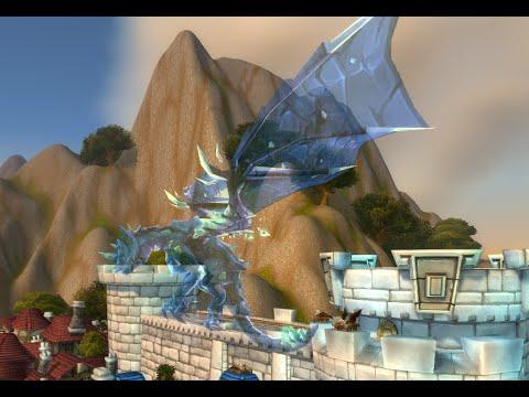 World of Warcraft - Druid Astral Sandstone Drake Mount