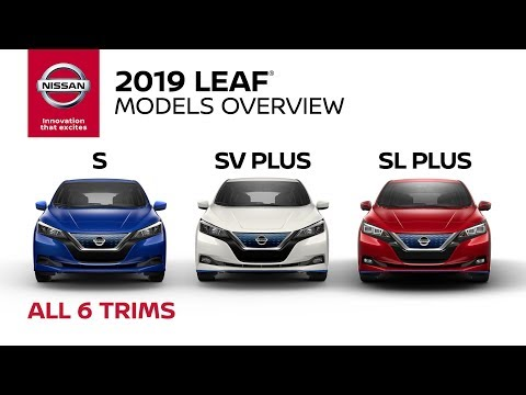 2019 Nissan LEAF Electric Car Walkaround & Review