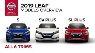 homepage tile video photo for All 2019 Nissan LEAF Models Explained
