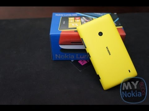 sports shoes a96e0 3bc58 How to Remove Back Cover on Lumia 520 and Insert Battery, Sim card &  Micro-SD card