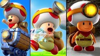 super mario 3d world captain toad