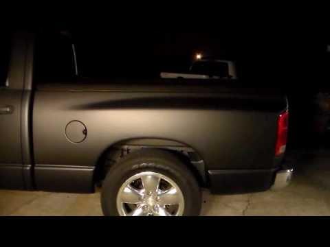 Dodge Ram Plastidip Whole Car Truck How To Matte Black ...