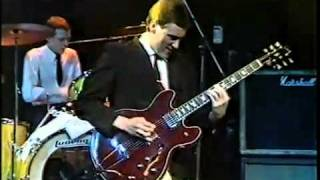 Nine Below Zero - One Way Street, Live TV Clip 1981