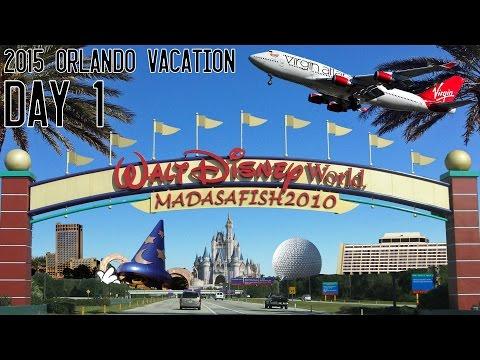 Orlando Winter Vacation 2015 (S02E01) - The Flight