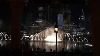 Burj Khalifa Wasserspiele / Musical Fountain - Nessun Dorma